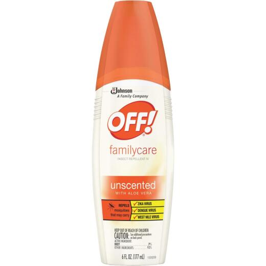 Off Family Care 6 Oz. Insect Repellent Pump Spray