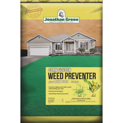 Jonathan Green Organics 15 Lb. 5000 Sq. Ft. 10-0-2 Corn Gluten Lawn Fertilizer with Weed Preventer