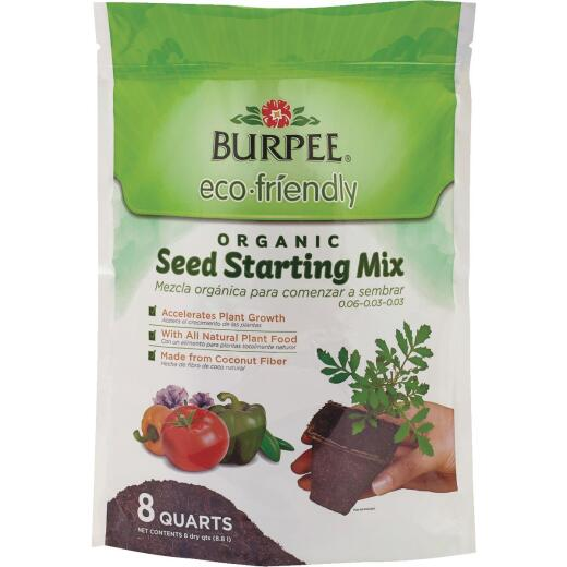 Burpee 8 Qt. 6 Lb. All Purpose Container Organic Seed Starting Mix