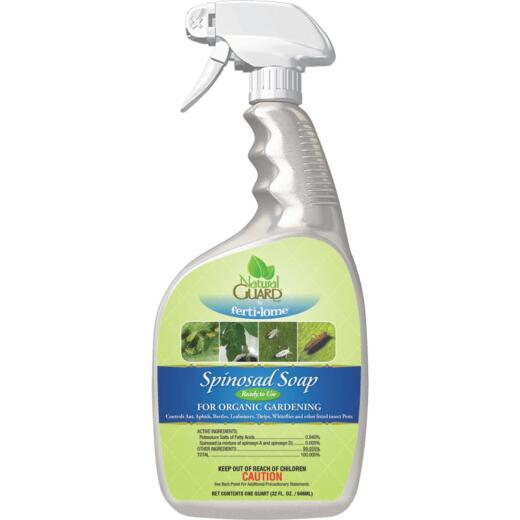 Natural Guard 32 Oz. Ready To Use Trigger Spray Spinosad Soap Insect Killer