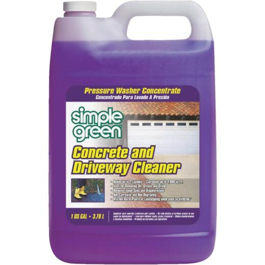 Simple Green Concrete & Driveway Pressure Washer Concentrate Cleaner