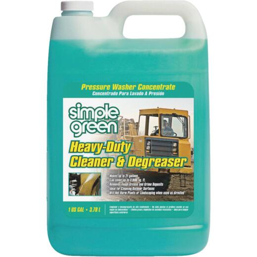 Simple Green Heavy-Duty Pressure Washer Concentrate Cleaner & Degreaser