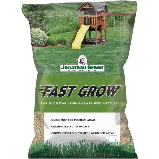 Jonathan Green Fast Grow 25 Lb. 6250 Sq. Ft. Coverage Ryegrass & Fescue Grass Seed