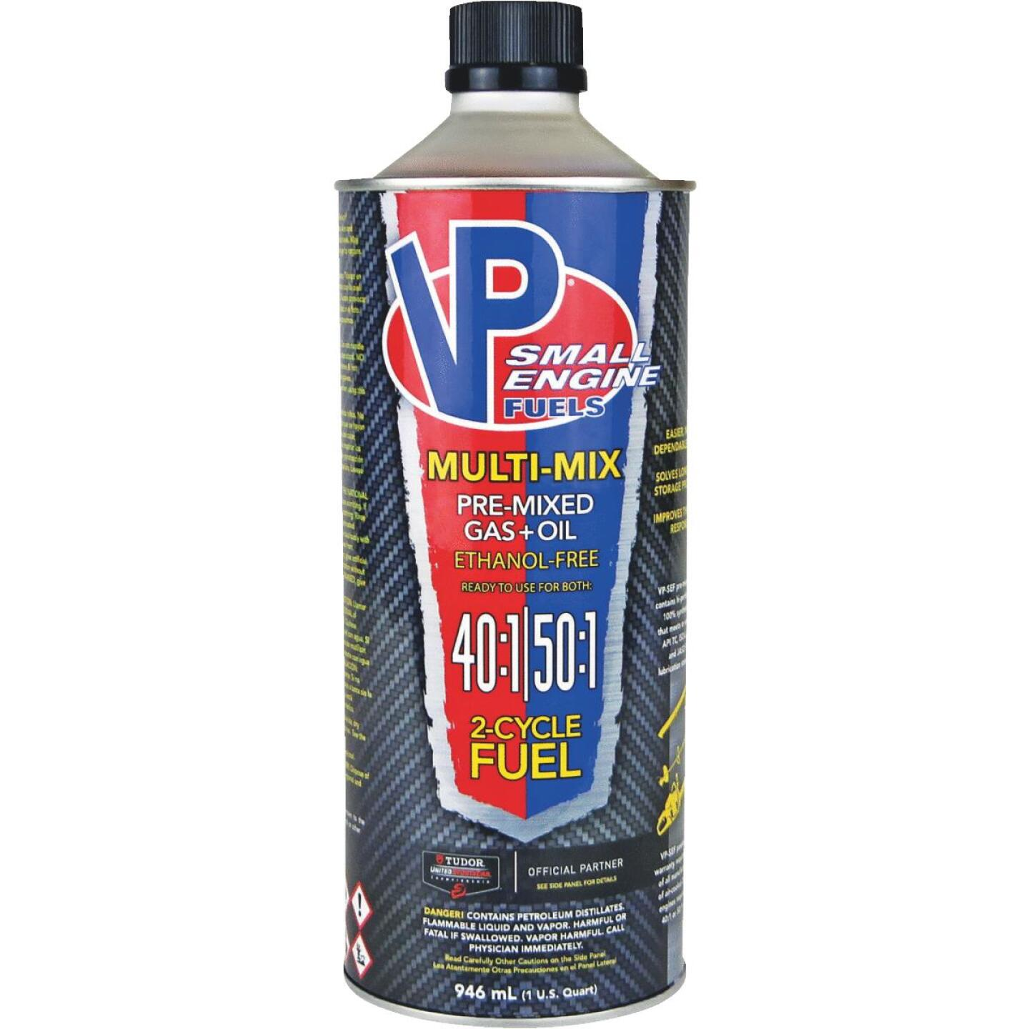 VP Small Engine Fuels 32 Oz. 40:1/50:1 Ethanol-Free Multi-Mix Gas & Oil Pre-Mix Image 1