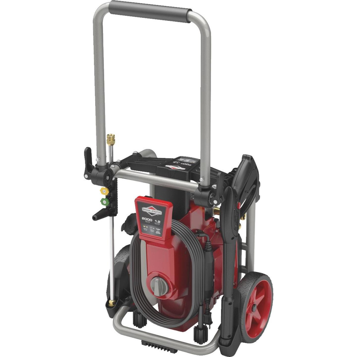 Briggs & Stratton 2000 psi 1.2 GPM Cold Water Electric Pressure Washer Image 1