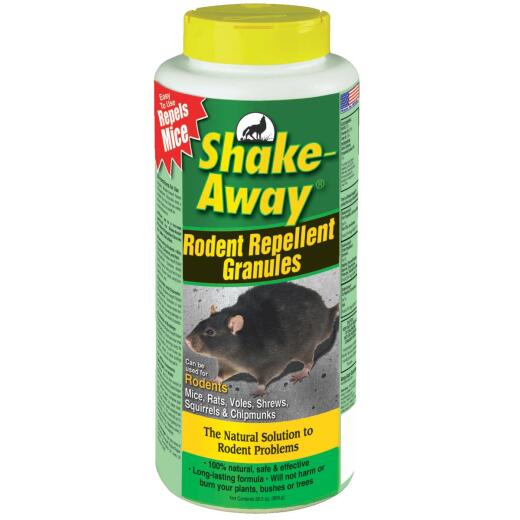 Shake Away 28.5 Oz. Granular Organic Rodent Repellent