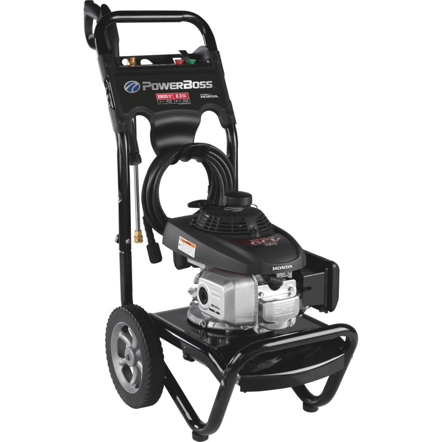 PowerBoss 2800 psi 2.3 GPM Cold Water Gas Pressure Washer Image 1