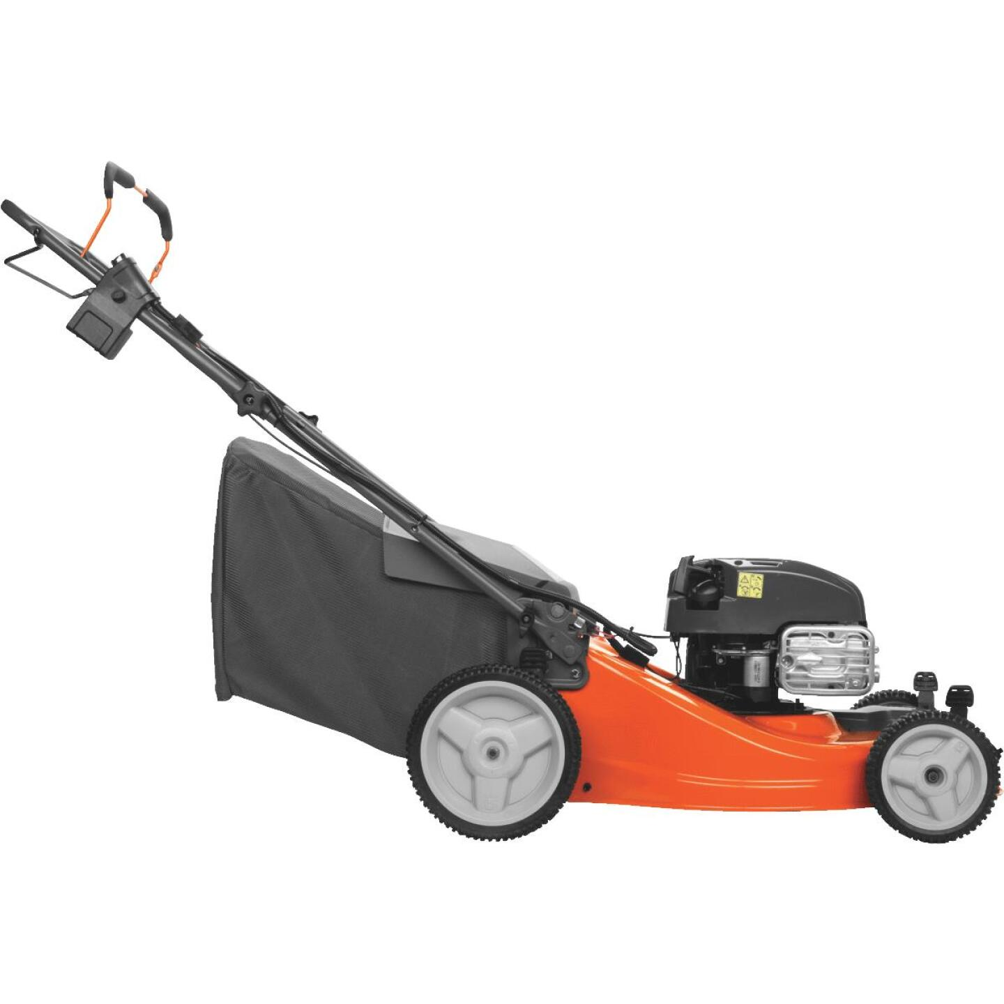 Husqvarna LC221FHE 21 In. 163cc 3-In-1 Self-Propelled Gas Lawn Mower Image 2