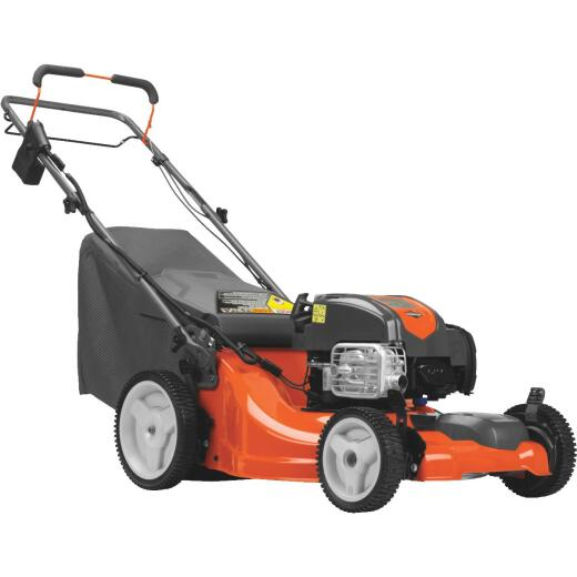 Husqvarna LC221FHE 21 In. 163cc 3-In-1 Self-Propelled Gas Lawn Mower