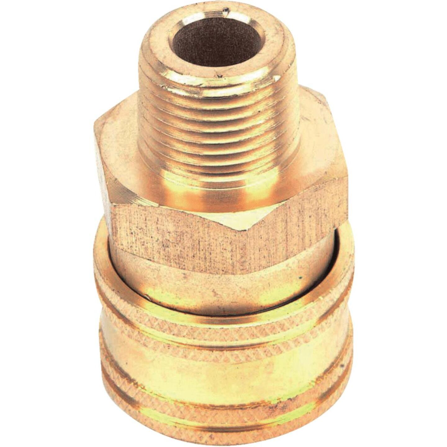 Forney 3/8 In. Male Quick Coupler Pressure Washer Socket Image 3