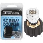 Forney M22Fx 1/4 In. Female Screw Pressure Washer Coupling Image 1