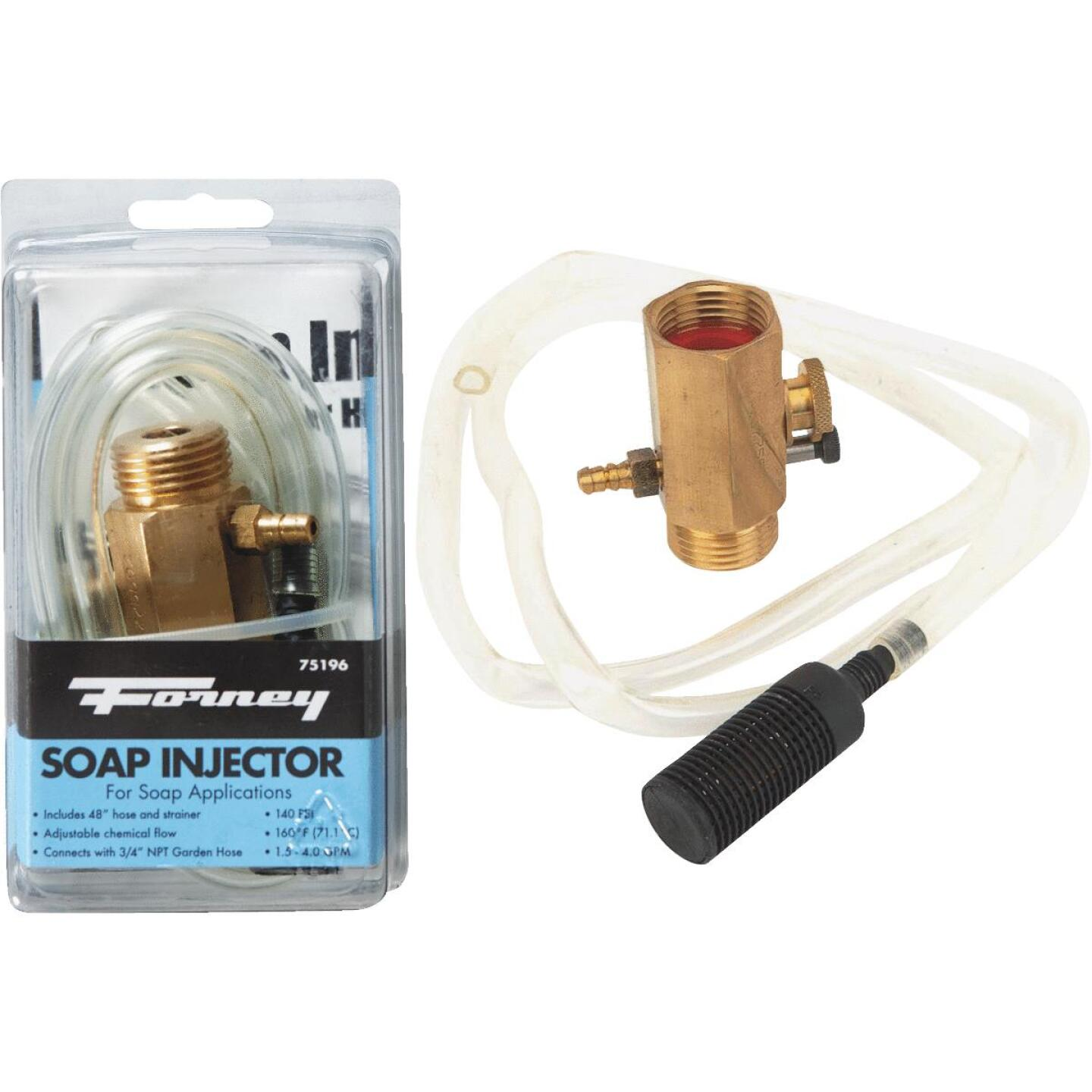 Forney Pressure Washer Detergent Injector with 48 In. Hose Image 1