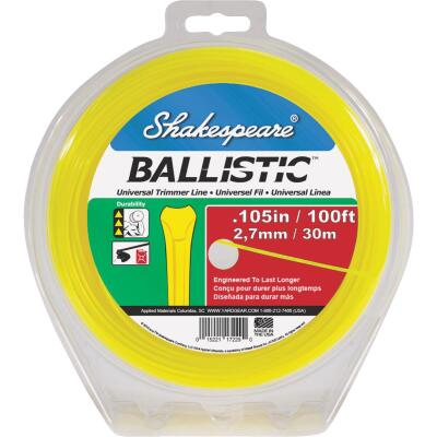 Shakespeare Ballistic 0.105 In. x 100 Ft. Universal Trimmer Line