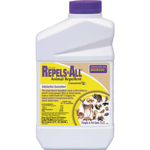 Bonide Repels All 1 Qt. Concentrate Animal Repellent