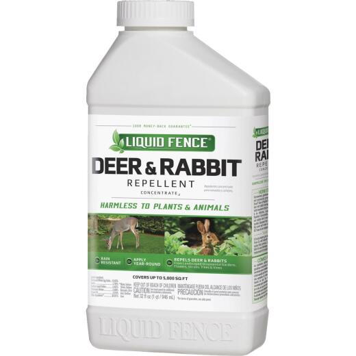 Liquid Fence 40 Oz. Concentrate Deer & Rabbit Repellent