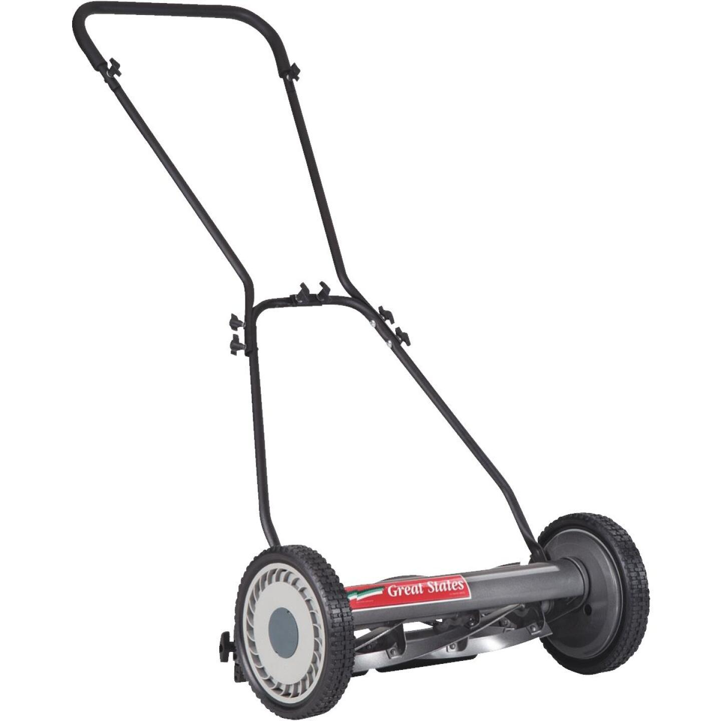 Great States 18 In. Push Reel Lawn Mower Image 1