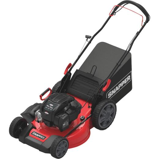 Snapper 21 In. 3-In-1 Rear Wheel Drive Self-Propelled Walk Behind Gas Lawn Mower