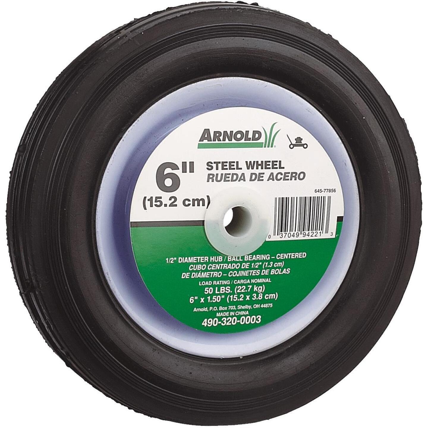 Arnold 6x1.5 Narrow Hub Wheel Image 1