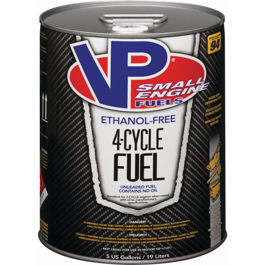 VP Small Engine Fuels 5 Gal. Ethanol-Free 4-Cycle Fuel