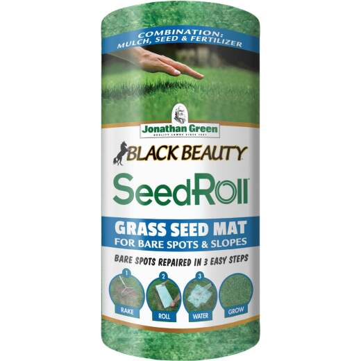 Jonathan Green Black Beauty 50 Sq. Ft. Coverage Grass Seed Roll