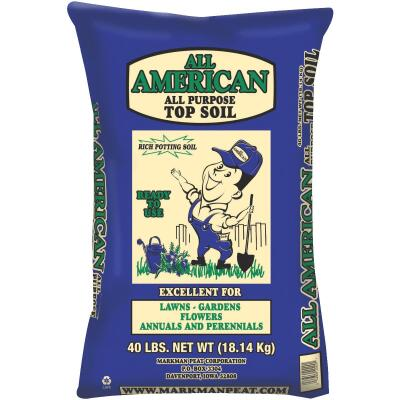 All American 40 Lb. All Purpose Top Soil