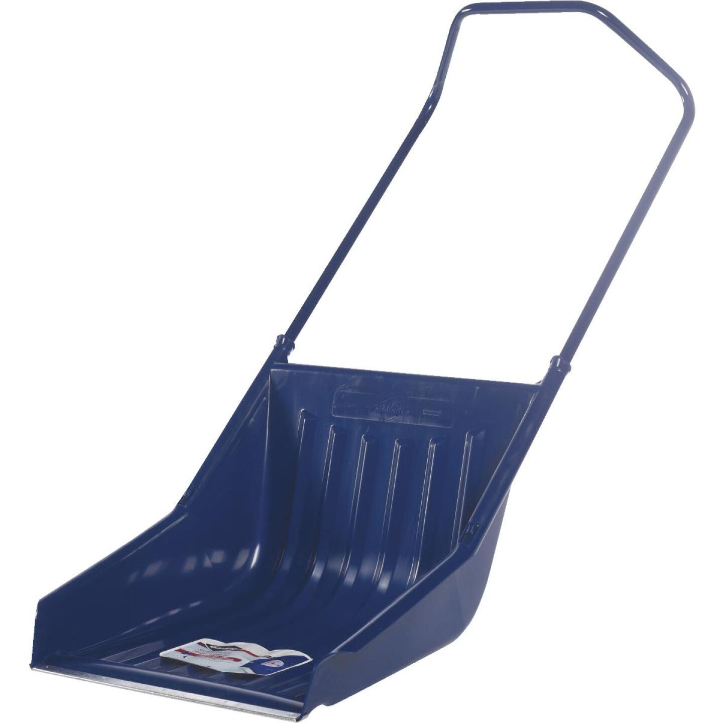 Garant 23.5 In. Poly Sled Snow Shovel with 42.5 In. Steel Handle Image 1