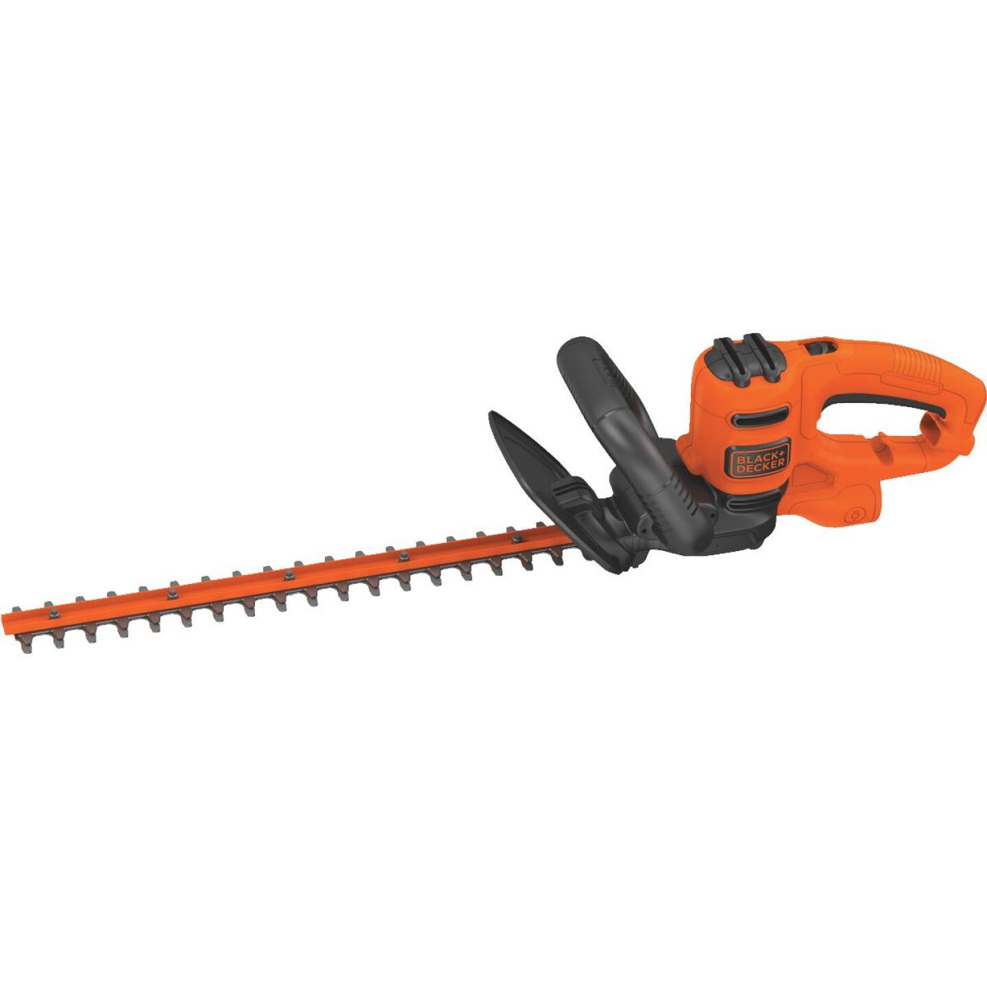 Black & Decker 18 In. 3.5-Amp Corded Electric Hedge Trimmer Image 1