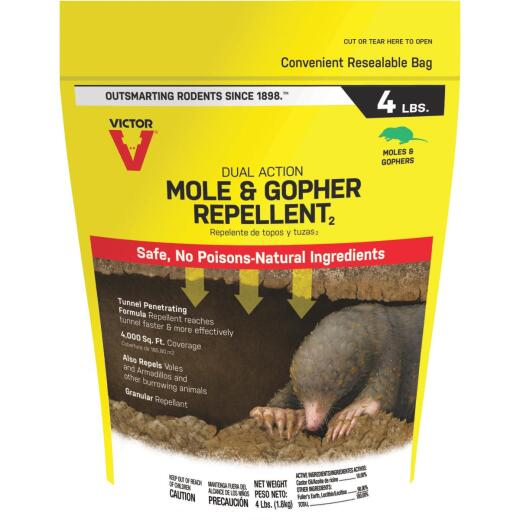 Victor 4 Lb. Granular Mole & Gopher Repellent