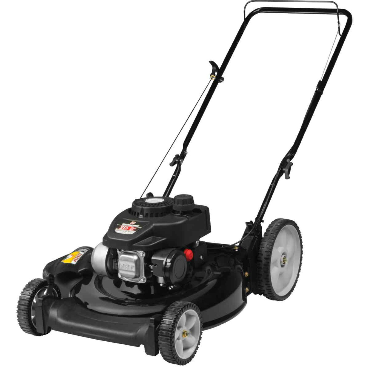 Yard Machines 21 In. 140cc OHV Powermore High Wheel Push Gas Lawn Mower Image 1