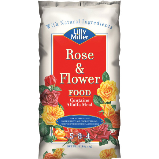 Lily Miller 16 Lb. 5-8-4 Rose & Flower Dry Plant Food