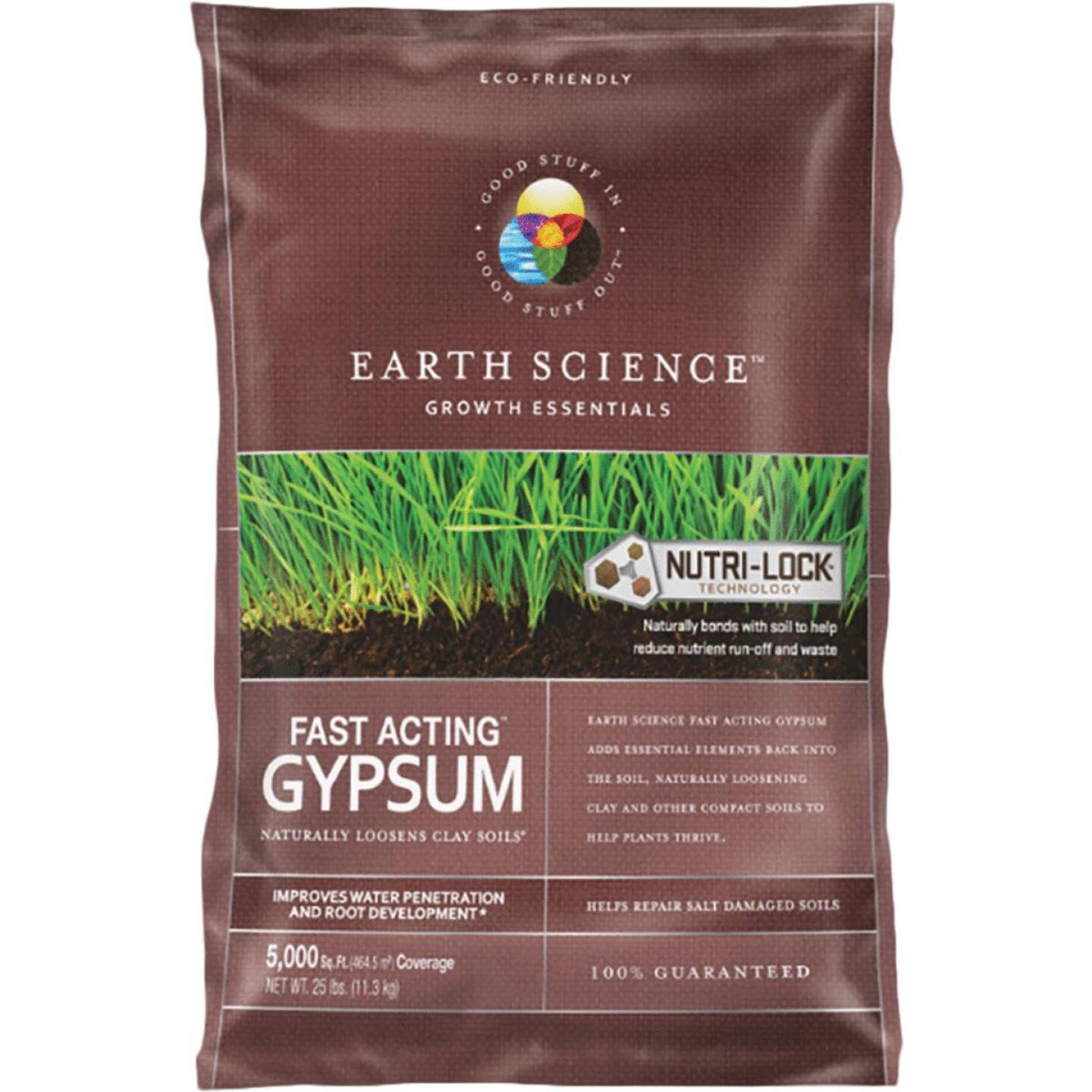 Earth Science 25 Lb. 5000 Sq. Ft. Coverage Fast Acting Gypsum Image 1