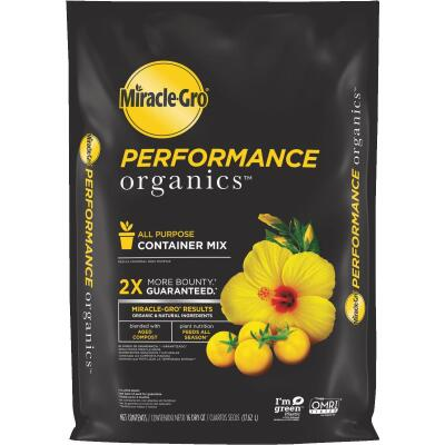 Miracle-Gro Performance Organics 16 Qt. All Purpose Container Mix (California Only)