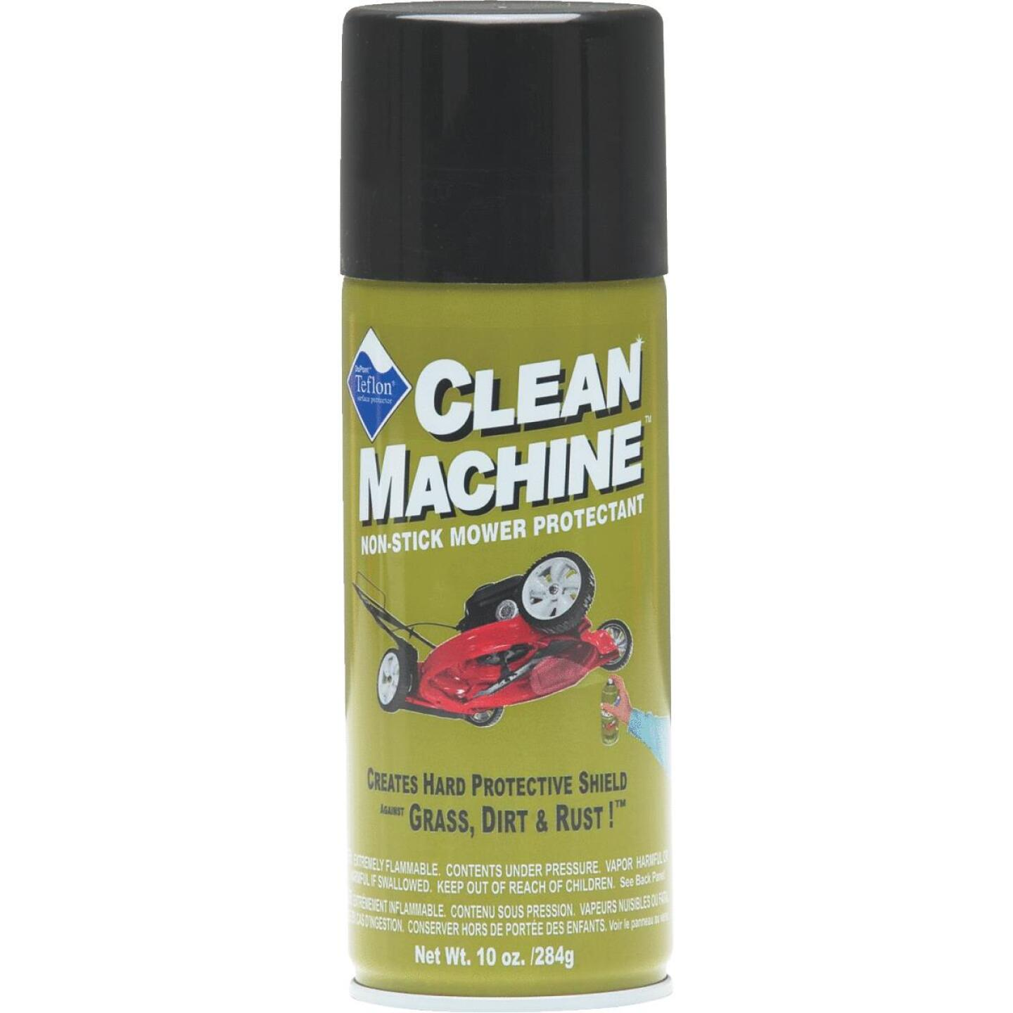 Good Vibrations Clean Machine Nonstick Mower Protectant Image 1