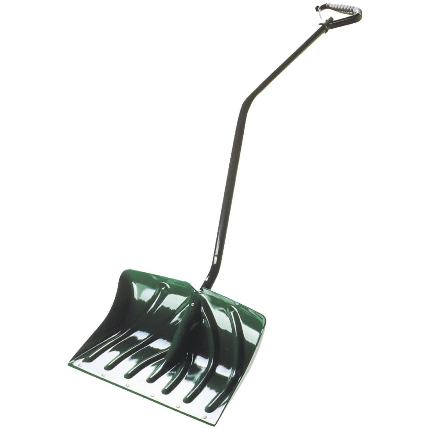 Suncast 18 In. Poly Snow Shovel & Pusher with 40.5 In. Steel Handle Image 2