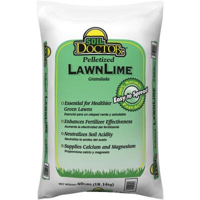 Soil DoctorX 40 Lb. Pelletized Lawn Lime