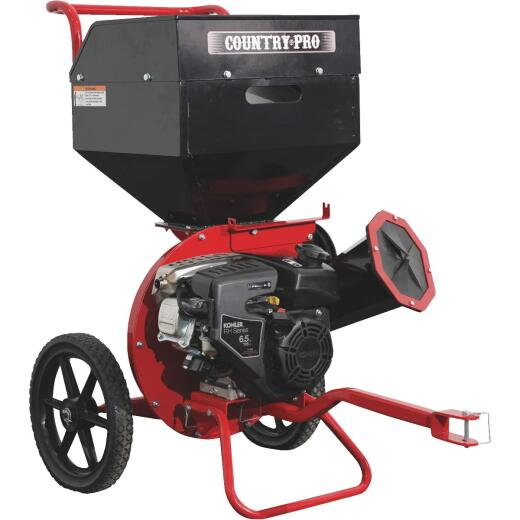 Country Pro 6.5 HP 196cc Chipper Shredder