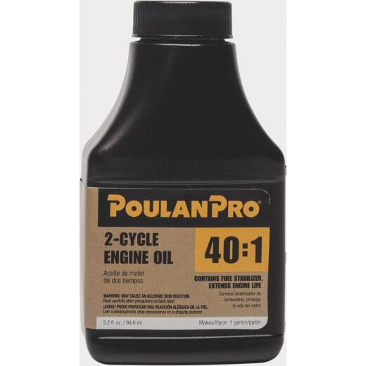 Poulan Pro 3.2 Oz. 2-Cycle Engine Oil