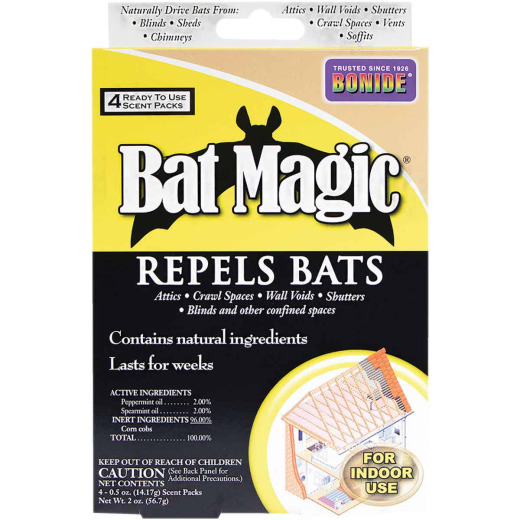 Bonide Bat Magic 2 Oz. Granular Bat Repellent (4-Pack)