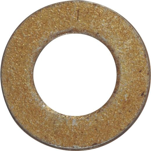 Hillman 5/16 In. Hardened Steel Yellow Dichromate Flat Washer (100 Ct.)
