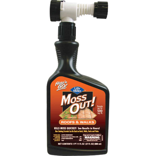 Lilly Miller MOSS OUT! 27 Oz. Ready To Spray Moss & Algae Killer
