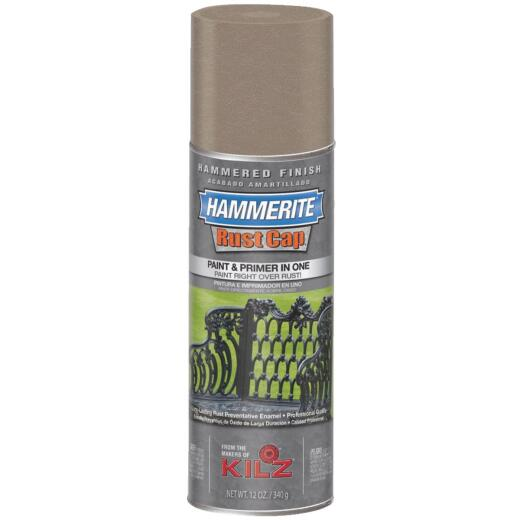 Hammerite Rust High Gloss Bronze  12 Oz. Hammered Finish Spray Paint