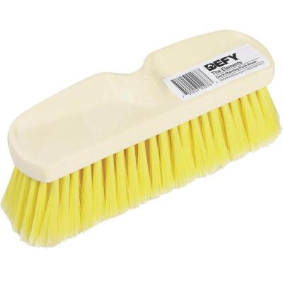 DEFY 10 In. Flagged Deck Staining Push Brush