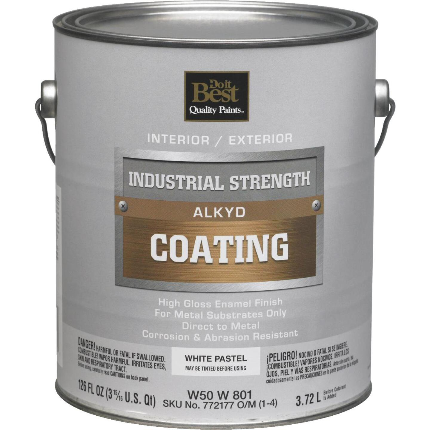 Do it Best Pastel Base Alkyd Industrial Coating, White, 1 Gal. Image 1