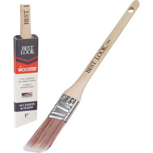 Best Look By Wooster 1 In. Thin Angle Sash Paint Brush