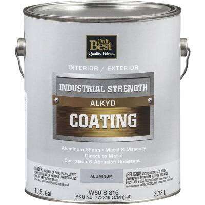 Do it Best Aluminum Alkyd Industrial Coating, 1 Gal.
