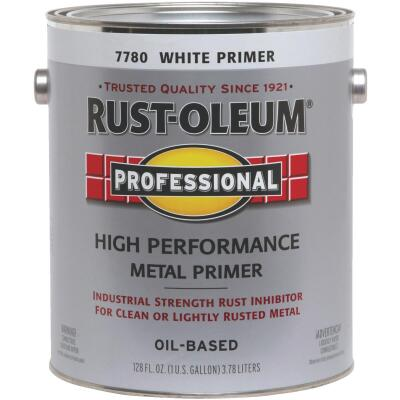 Rust-Oleum Professional High Performance Metal Primer, White, 1 Gal.