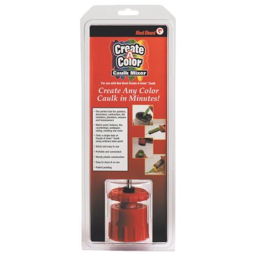 Red Devil Create A Color Standard Caulk Mixer