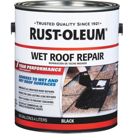 Rust-Oleum 1 Gal. Roofing Repair Wet Patch