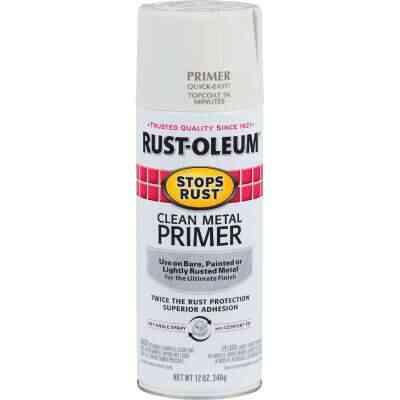 Rust-Oleum 12 Oz. White Clean Metal Spray Primer