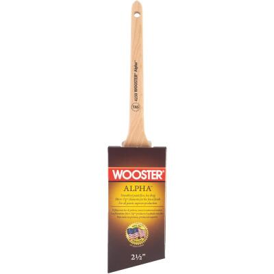 Wooster Alpha 2-1/2 In. Thin Angle Sash Paint Brush
